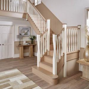 Oak Staircase Installation