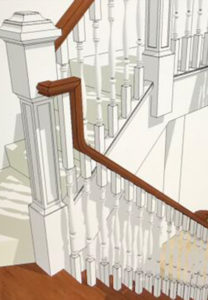 A & T Carpentry Staircase design