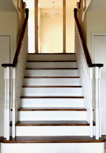staircase refurbishment completed
