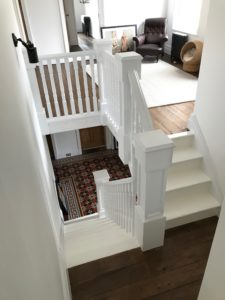 A&T Carpentry staircase renovation Bromsgrove
