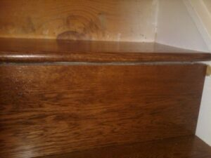 Caring for warped wooden floors