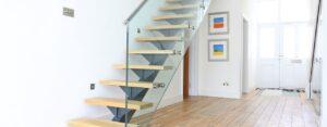 Minimalistic staircase design