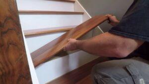 Stair tread installation