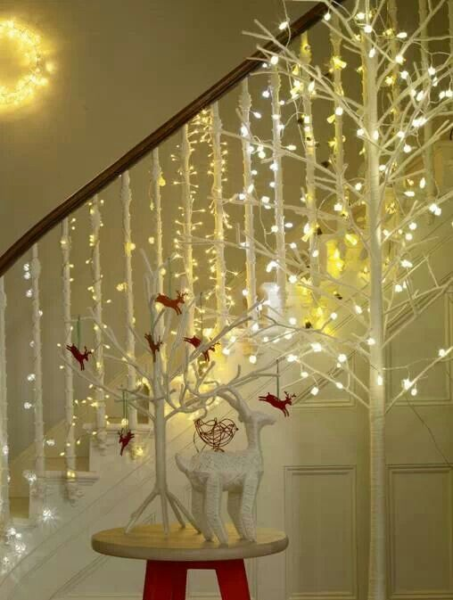 Treat Your Staircase To A Festive Makeover!