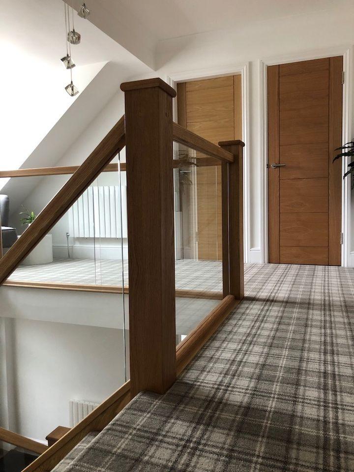 Bewdley Oak  Staircase installation