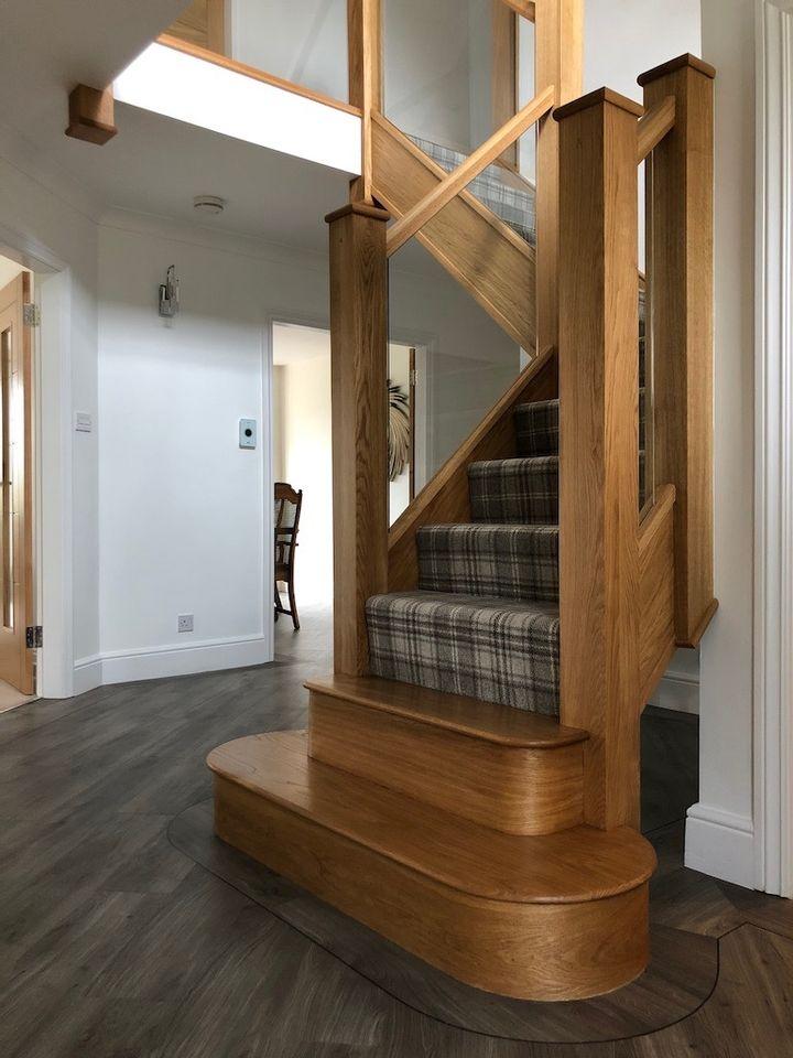 Bewdley Oak Staircase renovation
