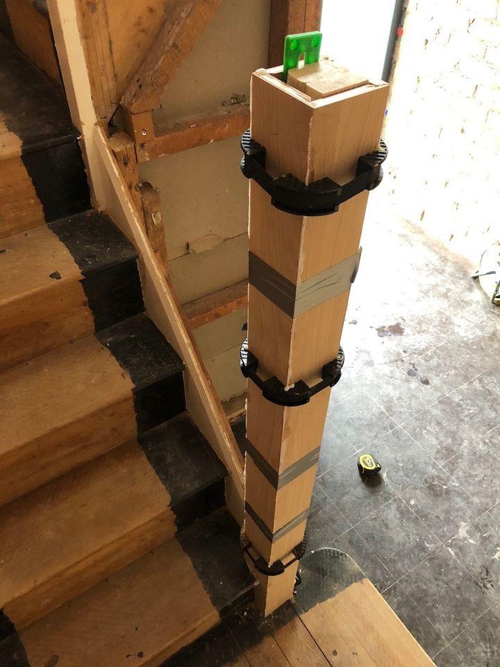 Kingswinford Staircase in progress