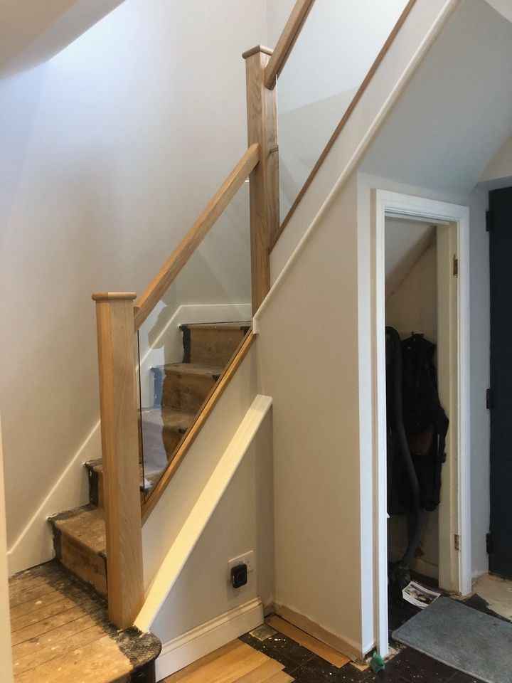 Kingswinford Staircase installation
